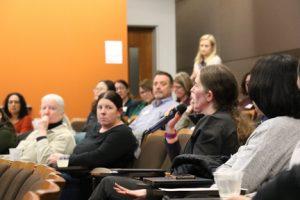 DAAG members representing study teams ask questions.