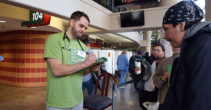 TL1 Trainee Helps Seattle/King County Clinic Fill a Healthcare Void