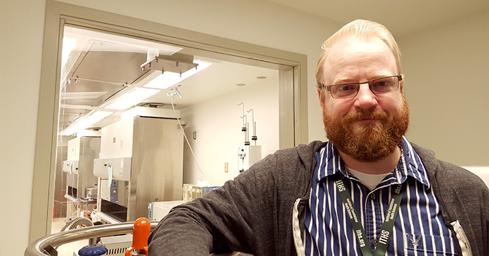 Meet Donovan Farris, ITHS Gene and Cell Therapy Lab Manager