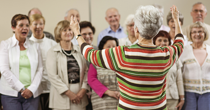 A Secret to Healthy Aging? Join the Choir