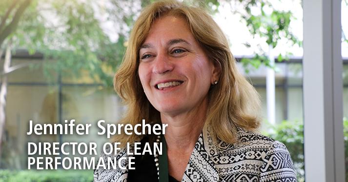 Meet Jennifer Sprecher, Director of Lean Performance for ITHS