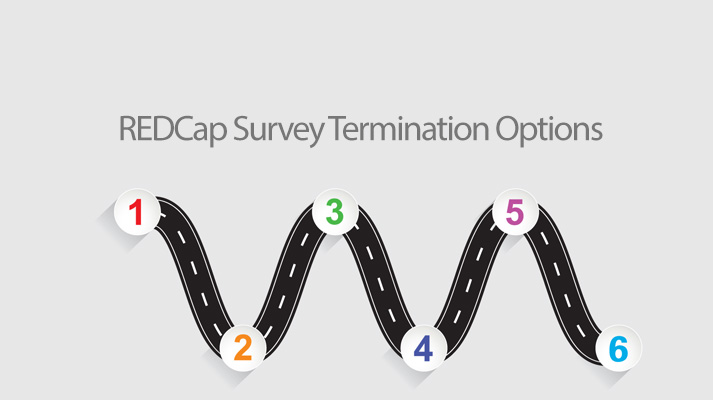 REDCap Tip of the Month: Survey Termination Options
