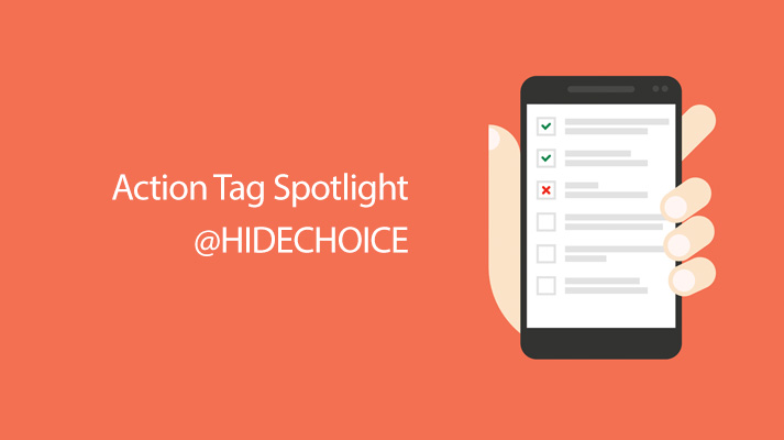 REDCap Tip of the Month: Action Tag Spotlight @HIDECHOICE