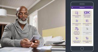 StayHome App Developed by UW CIRG
